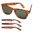 Retro Tortoise Sunglasses - Sunglasses with translucent tortoise frames