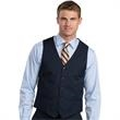 SYNERGY WASHABLE VEST - The mens synergy (tm) washable vest is a lightweight washable dress vest has contemporary weave and