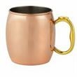 Copperplated SS Moscow Mule Mug - Copperplated SS Moscow Mule Mug, 20oz