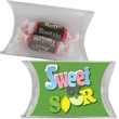 Small Pillow Pack with Tootsie Rolls Candy - Small pillow pack with tootsie rolls chocolate candy.