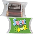 Small Pillow Pack with Hershey Miniatures Chocolate Candy
