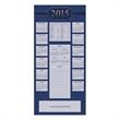 Special Dates for 2015 Calendar Card - On this Calendar Card, 2015 in gold foil is prominent above a listing of holidays and observances for the new year.