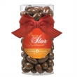 Large Gift Tube with Chocolate Covered Almonds - Large Gift Tube with Chocolate Covered Almonds.