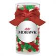 Large Gift Tube with Holiday Gourmet Jelly Beans - Large Gift Tube with Holiday Gourmet Jelly Beans.