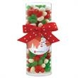 Small Gift Tube with Holiday Gourmet Jelly Beans - Small Gift Tube with Holiday Gourmet Jelly Beans.
