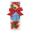 Small Gift Tube with Holiday Gummy Bears - Small Gift Tube with Holiday Gummy Bears.