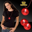 "2"" Light Up Red Badge Medallion with  J-Hook - Red 2"" LED lighted badge medallion with j-hook attachment."