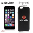 BeltLine for iPhone 6 (Black) - Protective and flexible high-quality case for the iPhone 6