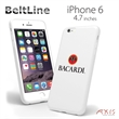 BeltLine for iPhone 6 (White) - Protective and flexible high-quality case for the iPhone 6