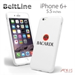 BeltLine for iPhone 6+ (White) - Protective and flexible high-quality case for the iPhone 6