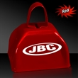 "3"" Metal Cowbell - Red - 3"" red colored metal cowbell"