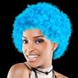 Light Blue Spirit Cheering Costume Wig