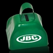 "3"" Metal Cowbell - Green - 3"" green colored metal cowbell"