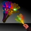 """Assorted Colors Flashing Light Up Glow LED Clapper - Assorted Colors 11"""" flashing light up LED Glow Cheering hand clapper."""