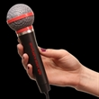 "10"" Plastic Toy Microphone - 10"" plastic toy microphone."