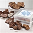 Holiday Keepsake Tin Medley - Send holiday wishes with gourmet brownies inside a beautiful keepsake tin.