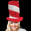 Candy Striped Top Novelty Hat