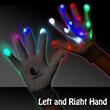 Light Up LED Glow Rainbow Gloves