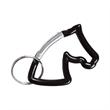 Horse Head Carabiner Key Chain