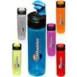 24 oz. Flip Top Slim Water Bottles