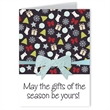 Gifts Design Greeting Card with Bow