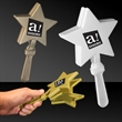 "7"" Star Hand Clapper - 7 1/2"" star shaped hand clapper"