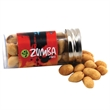 """Peanuts in a 3 """" Plastic Tube with Metal Cap"""