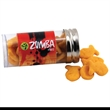 "Goldfish Crackers in a 3 "" Plastic Tube with Metal Cap"