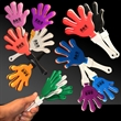 "Hand Clapper - 7"" hand clapper in assorted colors"