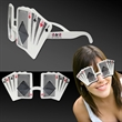 Playing Card Costume Sunglasses - Playing card costume sunglasses.