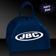 "3"" Metal Cowbell - Navy Blue - 3"" navy blue colored metal cowbell"