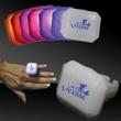 Light up Glow LED Ring - Light up Glow LED rectangle jewelry ring.