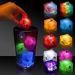 "Light Up Premium LitedIce Brand Ice Cube - 1 3/8"" lighted glow premium ice cube. Please inquire about our Full Color Direct to Product DIGI-PRINT at an additional cost."