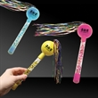 """9"""" Tinsel Maracas in Assorted Colors"""