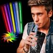 "9"" Supreme Glow Assorted Color Straws"