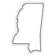 Mississippi State Magnet