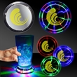 Infinity Fusion LED Coaster - Light up infinity tunnel LED Drink Coaster.