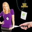 White Credit Card LED Light with J-Hook medallion