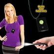 Black Credit Card LED Light with J-Hook medallion