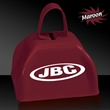 "3"" Metal Cowbell - Maroon - 3"" maroon colored metal cowbell"