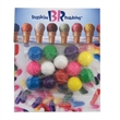 Billboard Full Color Header Candy Bag-  with Gumballs
