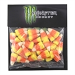Large Billboard Full Color Header Candy Bag with Candy Corn