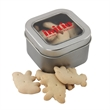 Tin with Window Lid and Animal Crackers