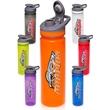 24 oz Flip Top Plastic Sports Bottles