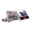 Chocolate Baseballs in a Clear Acrylic Large Box