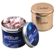 """Starlight Peppermints in a 3.5"""" Round Metal Tin with Lid"""