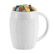 16 oz Ceramic  faux Sweater Mug w/ Assortment of Fills - 12 oz sweater style mug with handle.