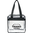 Game Day Clear Zippered Safety Tote - Game Day Clear Zippered Safety Tote