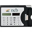 Network (Calculator Card Holder) - Solar-powered calculator with built-in business card holder.