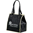 Quilted Insulated Non-Woven Tote - Quilted Insulated Non-Woven Tote